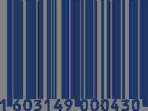 cod barras blue